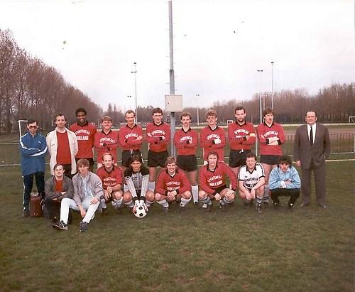 Kampioensfoto BTC-2 seizoen '85-'86