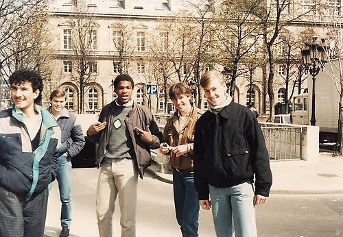 Weekendje Parijs met 5 VWO ('85)