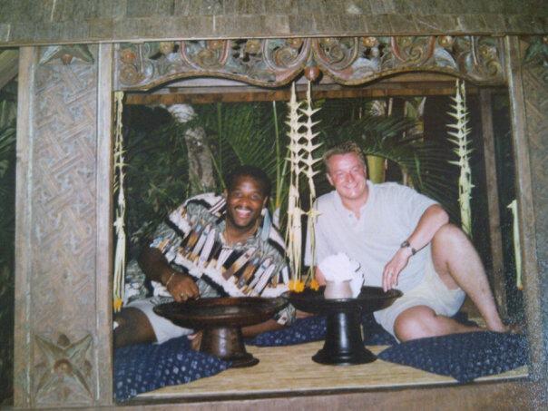 Met Mau op Bali