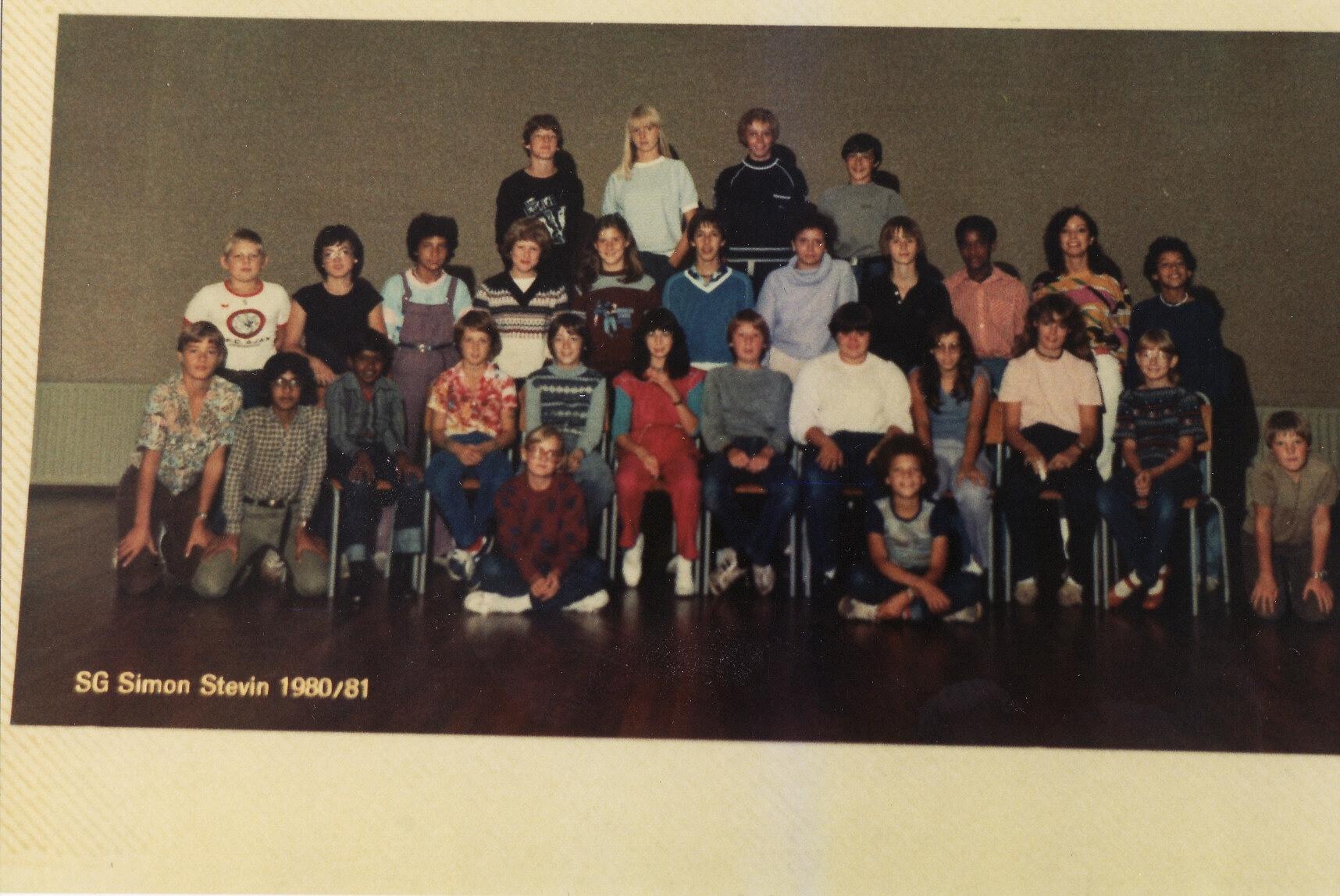 VWO-1 schooljaar 1980 - 1981